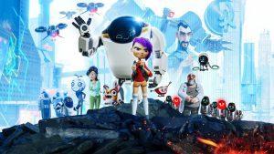 Plakát k Netflix animaci